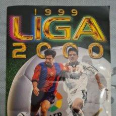 Álbum de fútbol completo: ÁLBUM COMPLETO 1999 2000 99 00 - EDICIONES ESTE - 523 CROMOS PEGADOS. Lote 229924745