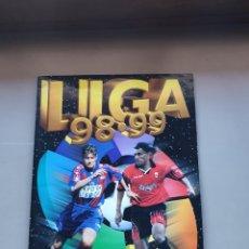 Álbum de fútbol completo: ALBUM COMPLETO LIGA ESTE 98 99 1998 1999 CON MUCHOS DIFÍCILES, BISES, DOBLES Y COLOCAS LEER. Lote 230018920