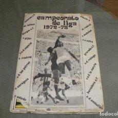 Album de football complet: CAMPEONATO DE LIGA 1972-73 COMPLETO. Lote 230202685