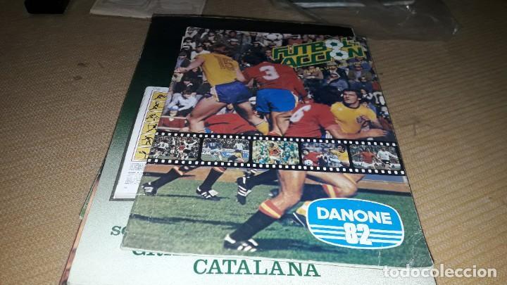 MARADONA EN EL ALBUM COMPLETO DEL MUNDIAL 1982-83 DANONE (Coleccionismo Deportivo - Álbumes y Cromos de Deportes - Álbumes de Fútbol Completos)