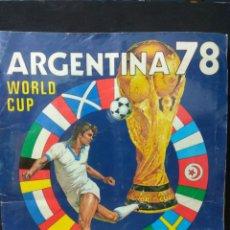 Album de football complet: ÁLBUM PANINI MUNDIAL ARGENTINA 78 COMPLETO. Lote 230428735