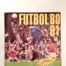 Álbum de fútbol completo: ÁLBUM 'FÚTBOL 80/81' (CROMOCROM, 1980) * COMPLETO, BUEN ESTADO. Lote 230945900
