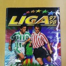 Álbum de fútbol completo: ALBUM COMPLETO EDITORIAL ESTE 96/97 CON 419 CROMOS PEGADOS, CON MUCHOS COLOCAS, VER FOTOS. Lote 230957565
