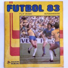 Álbum de fútbol completo: ÁLBUM 'FÚTBOL 83' (PANINI, 1982) * COMPLETO, BUEN ESTADO. Lote 230997375