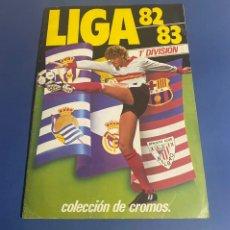 Album de football complet: ÁLBUM ESTE 82/83 CON 64 CROMOS DOBLES DESPEGADOS + REGALO (LEER DESCRIPCIÓN). Lote 231369780