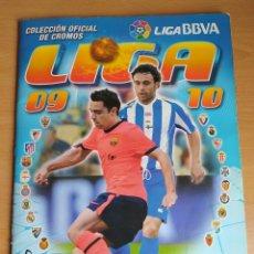 Album de football complet: ALBUM DE FÚTBOL EDICIONES ESTE 2009 -10- BASTANTE COMPLETO (LEED LA DESCRIPCIÓN). Lote 231810040