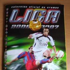 Album de football complet: ALBUM DE FÚTBOL EDICIONES ESTE 2006 -07- BASTANTE COMPLETO (LEED LA DESCRIPCIÓN). Lote 231811770