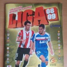 Album de football complet: ALBUM DE FÚTBOL EDICIONES ESTE 2008 -09- COMPLETO (LEED LA DESCRIPCIÓN). Lote 231815810