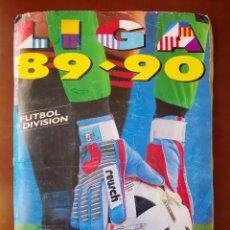 Album de football complet: ALBUM CROMOS FUTBOL 1989 1990 LIGA ESTE 89 90 NO DISGRA FHER RUIZ ROMERO CON 437 CROMOS. Lote 231841065