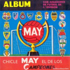 Álbum de fútbol completo: ALBUM FUTBOL CHICLES MAY 1968-1969 FACSIMIL FALTAN 5. Lote 278191688