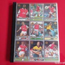 Álbum de fútbol completo: COLECCION COMPLETA CARDS PREMIER GOLD 98- BECKHAM,VIALLI,ZOLA,RUSH,FOWLER,SHEARER,KEANE,ASPRILLA.... Lote 232656980
