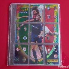 Álbum de fútbol completo: COLECCION COMPLETA BASICA CALCIO CARDS 97 PANINI-ZIDANE,DEL PIERO,VIERI FIRMADO,BATISTUTA,ZOLA.... Lote 232657360