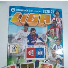 Album de football complet: LIGA ESTE 2020-2021 / COLECCION COMPLETA 559 CROMOS 4 EDICIONES ( INLCUYE ÁLBUM Y CROMOS CONMEMORA.. Lote 232685415