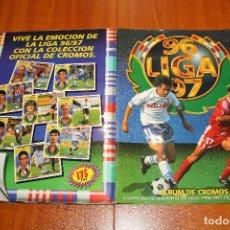 Album de football complet: ALBUM EDICIONES ESTE 96/97 COMPLETO CON 559 CROMOS Y ANDERSSON VERSION DIFICIL. Lote 232931900
