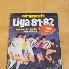 Album de football complet: ALBUM FUTBOL CAMPEONATO 81-82 81 82 EDICIONES ESTE COMPLETO. Lote 233031600