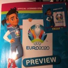 Album de football complet: EUROCOPA 2020 PREVIEW.COLECCIÓN COMPLETA PANINI. Lote 233168320