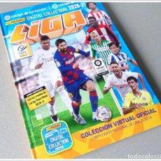 Álbum di calcio completo: COLECCIÓN OFICIAL VIRTUAL DIGITAL TAPA DURA LIGA ESTE 2020 2021 20 21 PANINI 1ª Y 2ª DIVISIÓN MESSI. Lote 233251665