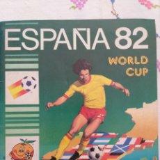 Caderneta de futebol completa: ÁLBUM MUNDIAL DE ESPAÑA 1982, ED PANINI, COMPLETO. Lote 233375020