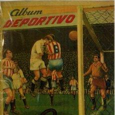 Caderneta de futebol completa: ÁLBUM DE CROMOS FUTBOL FACSIMIL ALBUM DEPORTIVO 1953 1954 AZAFRANES REY CHICO COMPLETO NUEVO. Lote 295463408