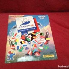 Album de football complet: ALBUM FUTBOL COMPLETO , MUNDIAL DE FÚTBOL , FRANCÉ 98 , PANINI. Lote 233673465