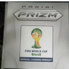Álbum de fútbol completo: PRIZM PANINI MUNDIAL 2014 SET COMPLETO BASE 1-201 MESSI RONALDO NEYMAR. Lote 234162175