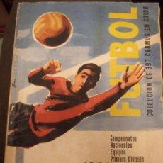 Álbum di calcio completo: CAMPEONATOS NACIONALES EQUIPOS PRIMERA DIVISIÓN 1960 COPA EUROPA. RUIZ ROMERO COMPLETO A FALTA DE 2. Lote 234392075