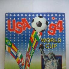 Álbum di calcio completo: ALBUM DE CROMOS COMPLETO USA 94 DE PANINI. Lote 234804435