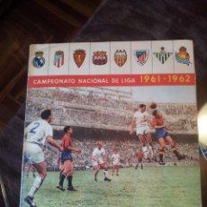 """Álbum di calcio completo: ALBUM CAMPEONATO NACIONAL DE LIGA 1961-1962 - """"COMPLETO Y CON SOBRE VACIO DE CROMOS"""" EDIT. BARCICROM. Lote 234829925"""