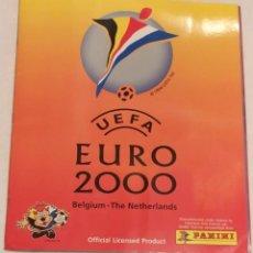 Álbum di calcio completo: ALBUM COMPLETO EURO 2000 BELGICA-HOLANDA - PANINI. Lote 234851390