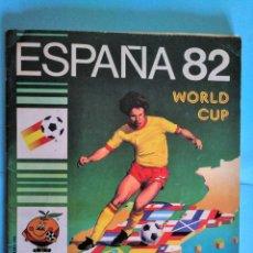 Álbum de fútbol completo: ALBUM PANINI WORLD CUP ESPAÑA 82 COMPLETO BIEN CONSERVADO. Lote 234915270