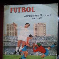 "Álbum di calcio completo: ""FUTBOL CAMPEONATO NACIONAL DE LIGA 1960-1961"" FERCA. Lote 234935475"