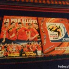 Álbum de fútbol completo: SOUTH AFRICA SUDÁFRICA 2010 MUNDIAL DE FÚTBOL COMPLETO CON ACTUALIZACIONES PANINI REGALO A POR ELLOS. Lote 235017441