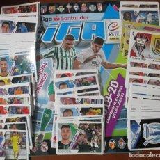 Álbum di calcio completo: COLECCIÓN COMPLETA FUTBOL LIGA ESTE 19 - 20 ALBUM Y CROMOS 2019 - 2020. Lote 235020860