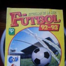 """Álbum di calcio completo: ALBUM FUTBOL ESTRELLAS DE LA LIGA 92-93 """"COMPLETO"""" Y EN BUEN ESTADO. Lote 235075070"""