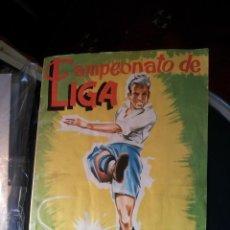 """Álbum di calcio completo: CAMPEONATO DE LIGA 1961-62 DISGRA """"COMPLETO"""" SOLO A FALTA DE 1 CROMO DEL ELCHE. Lote 235298210"""