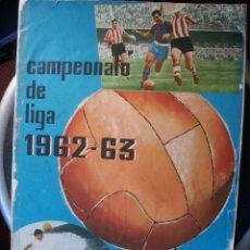 """Álbum di calcio completo: CAMPEONATO DE LIGA 1962-63 DISGRA """"COMPLETO PERO LEER DESCRIPCIÓN"""". Lote 235302010"""