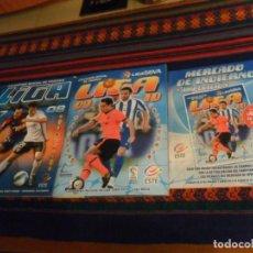 Álbum de fútbol completo: ESTE LIGA 09 10 2009 2010 COMPLETO MERCADO DE INVIERNO ACTUALIZACIÓN TODOS LOS CHICLES. REGALO 07 08. Lote 235404810