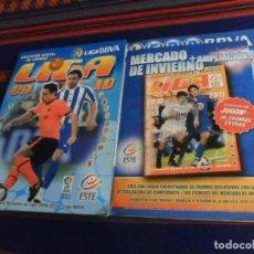 Álbum de fútbol completo: ESTE LIGA 10 11 2010 2011 COMPLETO MERCADO DE INVIERNO ACTUALIZACIÓN TODOS LOS CHICLES. REGALO 09 10. Lote 235405475