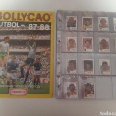 Álbum di calcio completo: UNICO EN TODOCOLECCION... COMPLETA BOLLYCAO 87/88 SIN PEGAR + ALBUM PLANCHA. Lote 235540635