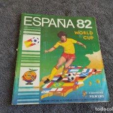 Álbum de fútbol completo: ALBUM ESPAÑA 82 WOLRD CUP PANINI COMPLETO VER EL BUEN ESTADO. Lote 235559375
