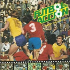 Álbum de fútbol completo: ÁLBUM DE CROMOS DE FÚTBOL COMPLETO DANONE 82 FUTBOL EN ACCIÓN. Lote 235678775