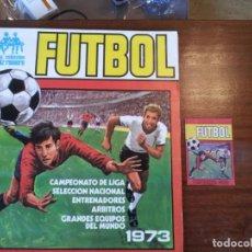 """Álbum di calcio completo: FUTBOL CAMPEONATO LIGA 1973-RUIZ ROMERO. Y """"UN SOBRE ABIERTO"""". ALBUM """"COMPLETO Y MAGNÍFICO ESTADO"""". Lote 235889805"""