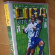 Álbum di calcio completo: ED. ESTE 04-05 2004/2005. COLECCIÓN COMPLETA. CROMOS NUNCA PEGADOS Y ÁLBUMES PLANCHA.. Lote 235923265
