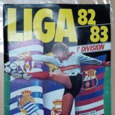 Álbum di calcio completo: ALBUM CROMOS FUTBOL. LIGA 82/83. COLECCIONES ESTE. CASILLAS CON 2 JUGADORES. VER FOTOS. Lote 236012940