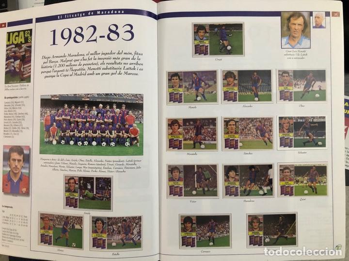 Álbum de fútbol completo: ÁLBUM CROMOS BARÇA 1899-1999, 1er CENTENARIO ** MARADONA, CRUIFF, - Foto 14 - 182896400
