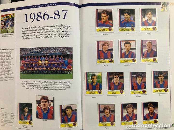 Álbum de fútbol completo: ÁLBUM CROMOS BARÇA 1899-1999, 1er CENTENARIO ** MARADONA, CRUIFF, - Foto 16 - 182896400