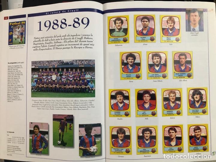 Álbum de fútbol completo: ÁLBUM CROMOS BARÇA 1899-1999, 1er CENTENARIO ** MARADONA, CRUIFF, - Foto 17 - 182896400