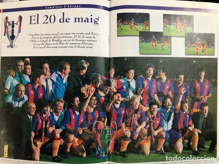 ÁLBUM CROMOS BARÇA 1899-1999, 1ER CENTENARIO ** MARADONA, CRUIFF, (Coleccionismo Deportivo - Álbumes y Cromos de Deportes - Álbumes de Fútbol Completos)