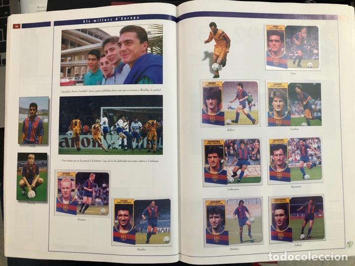 Álbum de fútbol completo: ÁLBUM CROMOS BARÇA 1899-1999, 1er CENTENARIO ** MARADONA, CRUIFF, - Foto 18 - 182896400