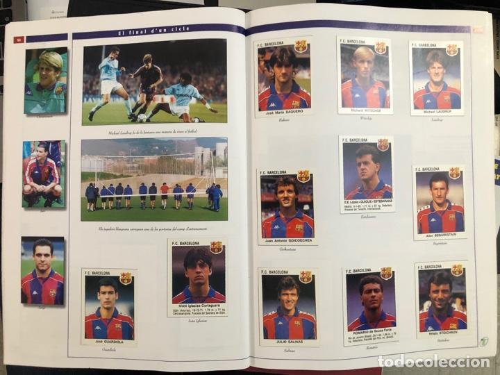 Álbum de fútbol completo: ÁLBUM CROMOS BARÇA 1899-1999, 1er CENTENARIO ** MARADONA, CRUIFF, - Foto 19 - 182896400